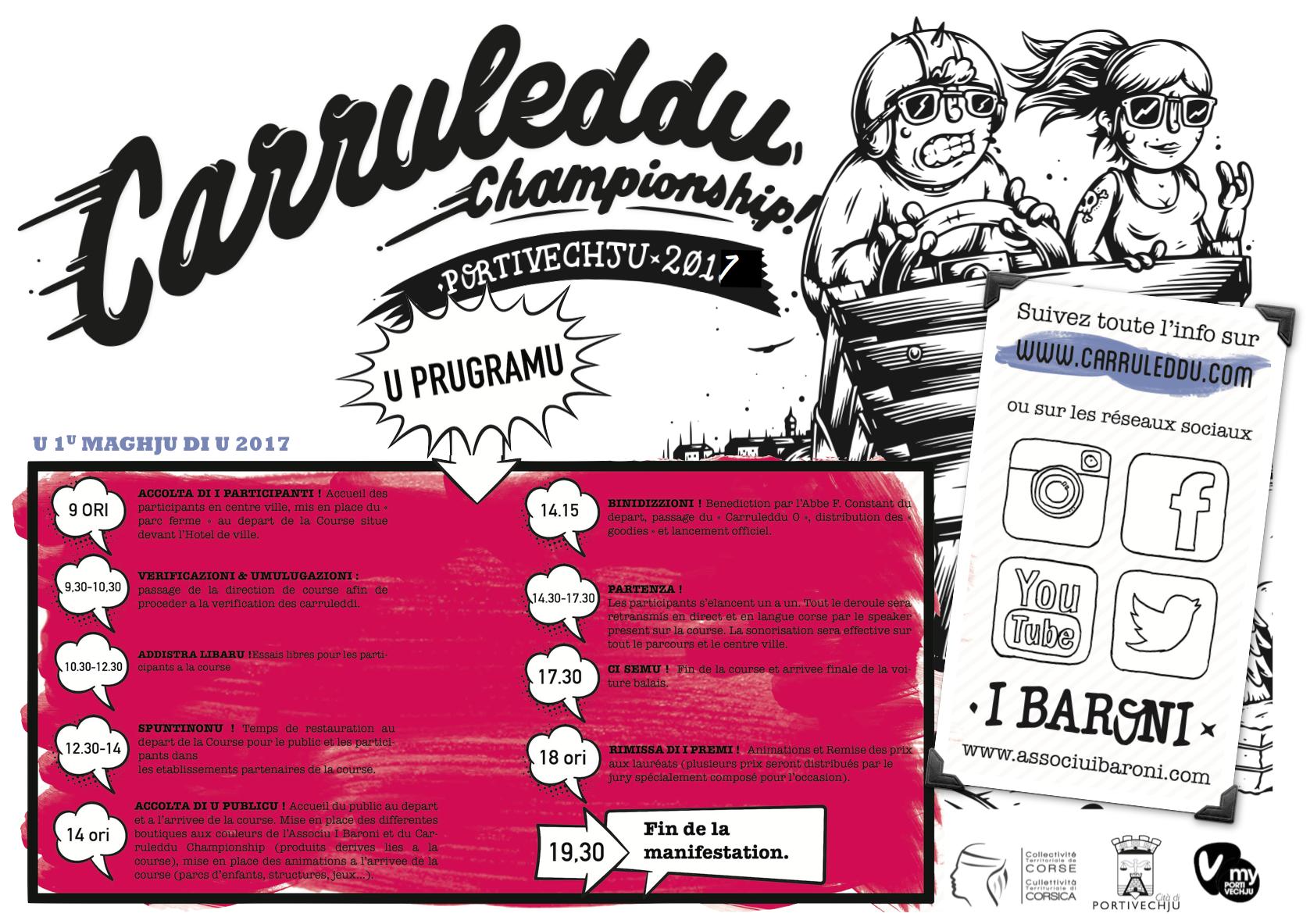 Programme #Carruleddu2017